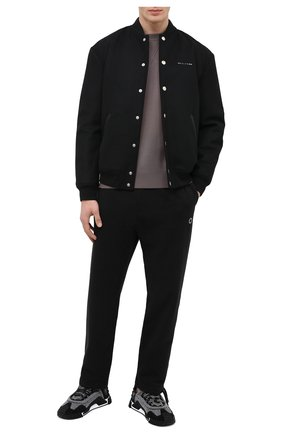 Мужской хлопковые брюки 1017 ALYX 9SM черного цвета, арт. AAUPA0146FA01 | Фото 2