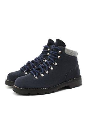 Мужские замшевые ботинки ANDREA VENTURA FIRENZE синего цвета, арт. LE APUANE CITY/ATM0SPHERE/CACHEMIRE/VIBRAM ARCTIC | Фото 1