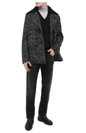 Мужские кожаные сапоги ALDO BRUE черного цвета, арт. AB3014.MDN.S.T | Фото 2