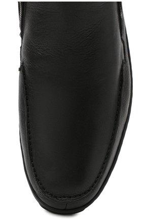 Мужские кожаные сапоги ALDO BRUE черного цвета, арт. AB3014.MDN.S.T | Фото 5