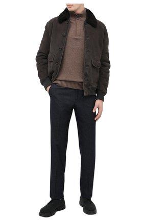 Мужской текстильные дерби ALDO BRUE серого цвета, арт. AB4026.CN.L.SW | Фото 2