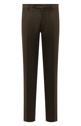 Мужские шерстяные брюки BERWICH хаки цвета, арт. SC/1 ALC/RD5470 | Фото 1