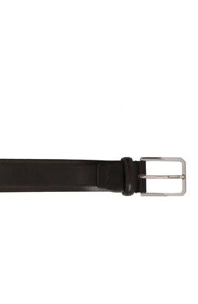 Мужской кожаный ремень SANTONI темно-коричневого цвета, арт. CM35NS003B91E0BRT53 | Фото 3