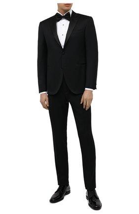 Мужская хлопковая сорочка CORNELIANI белого цвета, арт. 86P197-0811084/00 | Фото 2