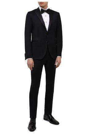 Мужской шерстяной смокинг CORNELIANI черного цвета, арт. 867062-0818231/92 | Фото 1