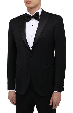 Мужской шерстяной смокинг CORNELIANI черного цвета, арт. 867062-0818231/92 | Фото 2