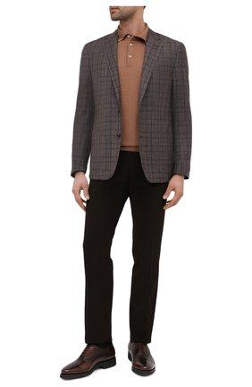 Мужской шерстяной пиджак CORNELIANI коричневого цвета, арт. 866Y70-0816372/90 Z   Фото 2