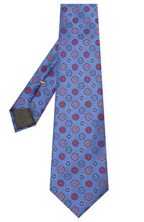 Мужской шелковый галстук CANALI синего цвета, арт. 18/HJ02858 | Фото 2