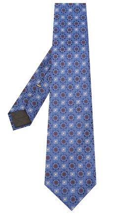 Мужской шелковый галстук CANALI синего цвета, арт. 18/HJ02856 | Фото 2
