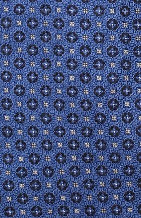 Мужской шелковый галстук CANALI синего цвета, арт. 18/HJ02853 | Фото 3