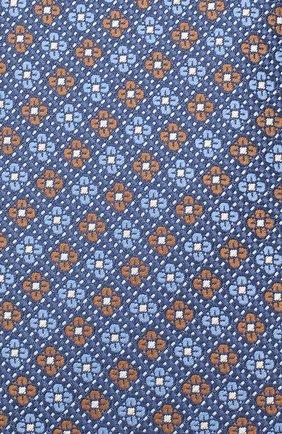Мужской шелковый галстук CANALI синего цвета, арт. 18/HJ02852 | Фото 3