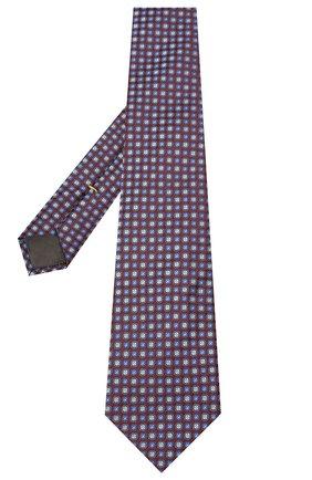 Мужской шелковый галстук CANALI бордового цвета, арт. 18/HJ02851 | Фото 2