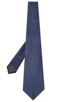 Мужской шелковый галстук CANALI темно-синего цвета, арт. 18/HJ02846 | Фото 2