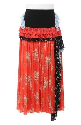 Женская юбка ULYANA SERGEENKO розового цвета, арт. GNM006SS20P 0113р20 | Фото 1