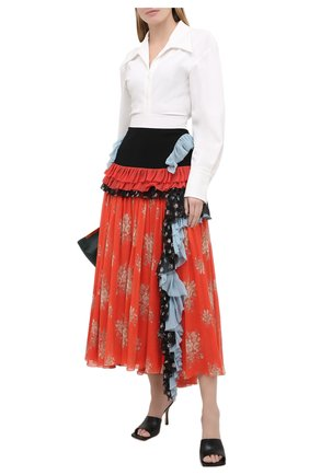 Женская юбка ULYANA SERGEENKO розового цвета, арт. GNM006SS20P 0113р20 | Фото 2