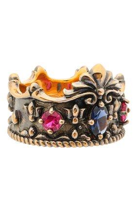 Женское кольцо crown QUEENSBEE разноцветного цвета, арт. 102103/9,85 | Фото 1