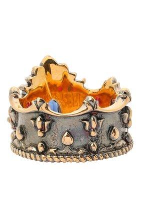 Женское кольцо crown QUEENSBEE разноцветного цвета, арт. 102103/9,85 | Фото 2