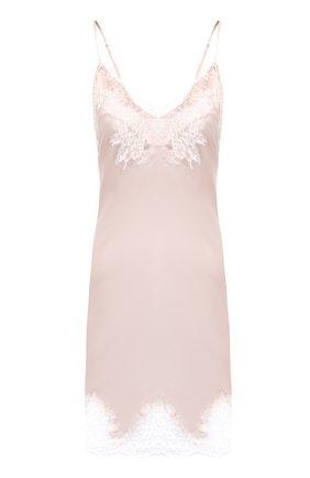 Женская шелковая сорочка LISE CHARMEL светло-розового цвета, арт. ALC1080   Фото 1