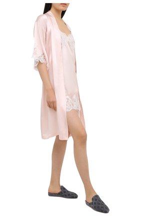 Женская шелковая сорочка LISE CHARMEL светло-розового цвета, арт. ALC1080   Фото 2
