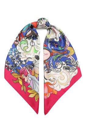 Женский шелковый платок barocco RADICAL CHIC розового цвета, арт. 501822.07.02 | Фото 1
