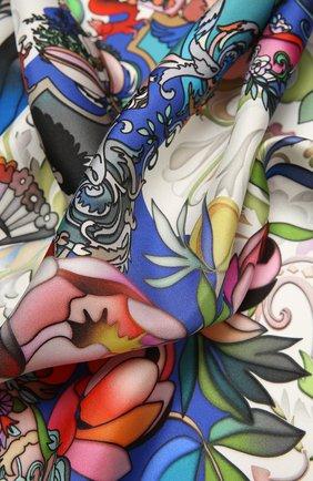 Женский шелковый платок barocco RADICAL CHIC розового цвета, арт. 501822.07.02 | Фото 2