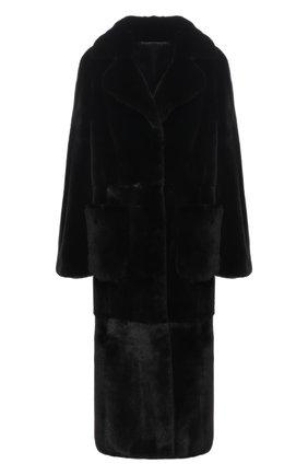 Женская шуба из меха норки KUSSENKOVV черного цвета, арт. 702800002470 | Фото 1