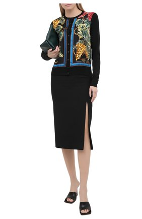 Женский кардиган из кашемира и шелка DOLCE & GABBANA разноцветного цвета, арт. FX825T/JAM6B | Фото 2