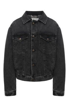 Женская джинсовая куртка MAISON MARGIELA серого цвета, арт. S51AM0420/S30496 | Фото 1