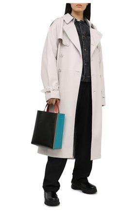 Женская джинсовая куртка MAISON MARGIELA серого цвета, арт. S51AM0420/S30496 | Фото 2