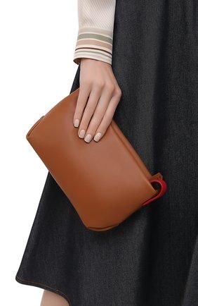 Женский клатч inside out small LORO PIANA коричневого цвета, арт. FAI6418 | Фото 2