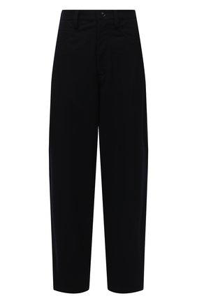 Женские шерстяные брюки Y`S синего цвета, арт. YR-P04-808   Фото 1