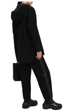 Женские шерстяные брюки Y`S синего цвета, арт. YR-P04-808   Фото 2