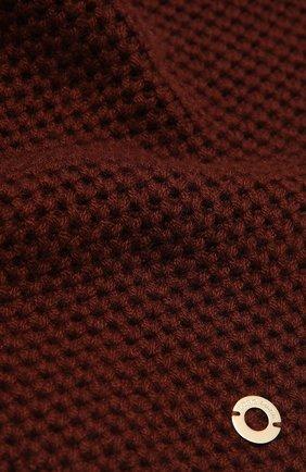 Мужские кашемировый шарф rougemont LORO PIANA бордового цвета, арт. FAE1299 | Фото 2