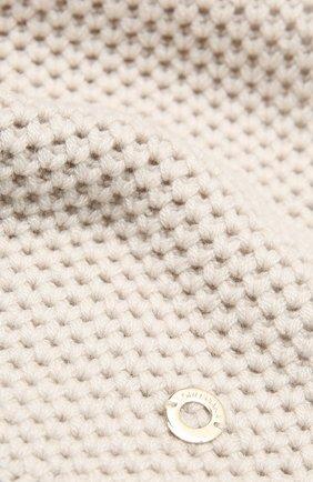 Мужские кашемировый шарф rougemont LORO PIANA светло-серого цвета, арт. FAE1299 | Фото 2