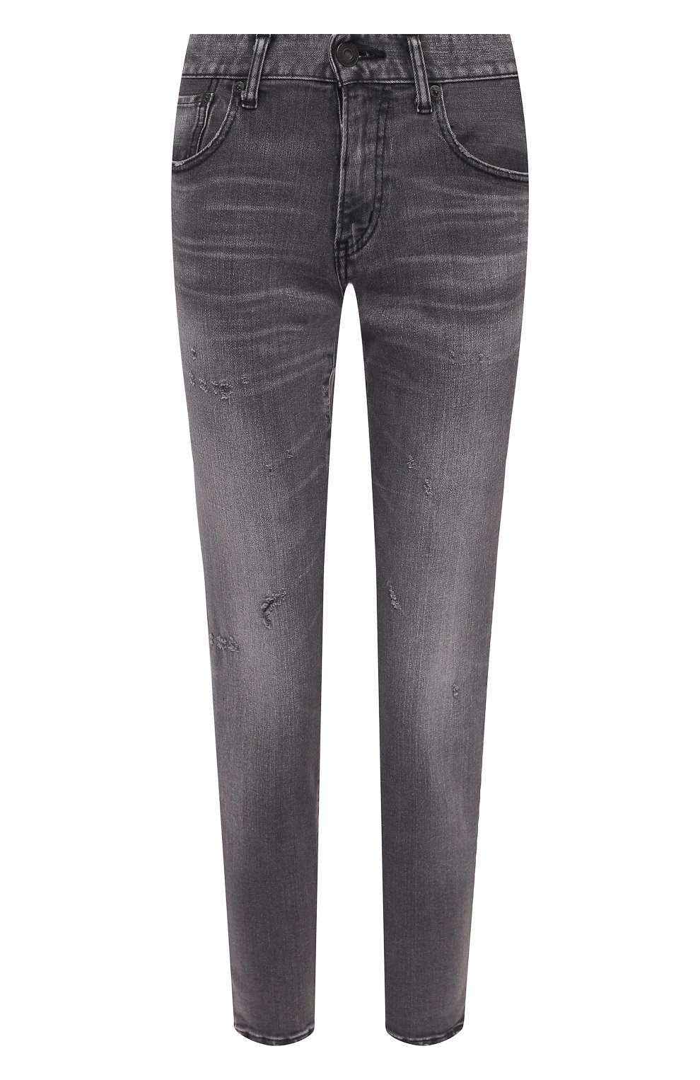 Женские джинсы MOUSSY серого цвета, арт. 025DAC12-1230 | Фото 1