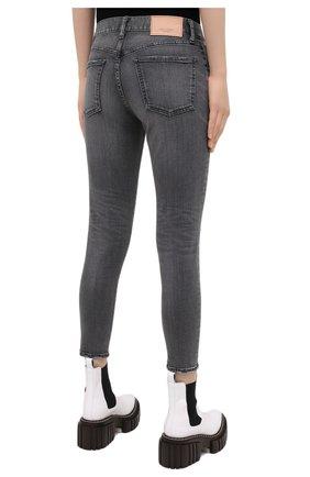 Женские джинсы MOUSSY серого цвета, арт. 025DAC12-1230 | Фото 4