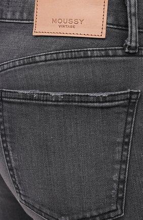Женские джинсы MOUSSY серого цвета, арт. 025DAC12-1230 | Фото 5