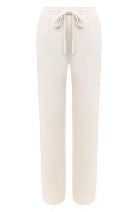 Женские брюки NANUSHKA кремвого цвета, арт. 0NI_CREME_SUSTAINABLE CASHMERE KNIT   Фото 1
