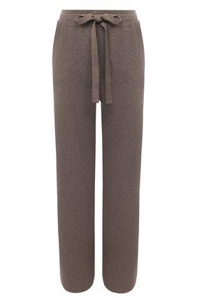 Женские брюки NANUSHKA серого цвета, арт. 0NI_F0SSILE_RECYCLED CASHMERE KNIT   Фото 1