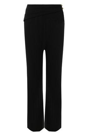 Женские брюки NANUSHKA черного цвета, арт. ARUN_BLACK_STRETCH GE0RGETTE | Фото 1