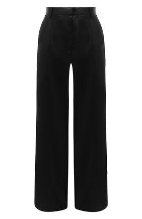Женские брюки NANUSHKA черного цвета, арт. CLE0_BLACK_VEGAN LEATHER | Фото 1