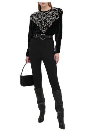Женские брюки со штрипками ISABEL MARANT черного цвета, арт. PA1788-20H028I/NAN0U | Фото 2