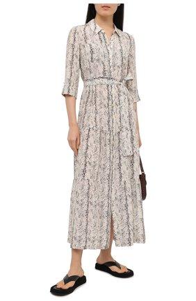 Женское шелковое платье HEIDI KLEIN разноцветного цвета, арт. 20HSZM2883 | Фото 2