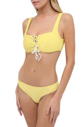 Женский бра-топ HEIDI KLEIN желтого цвета, арт. 20HSCN0264 | Фото 2