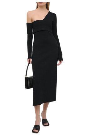 Женское платье PROENZA SCHOULER черного цвета, арт. R2047530-KY204 | Фото 2