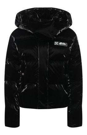 Женский пуховая куртка OFF-WHITE черного цвета, арт. 0WEA213F20FAB0011000 | Фото 1