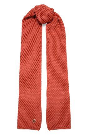 Мужские кашемировый шарф rougemont LORO PIANA розового цвета, арт. FAE1299 | Фото 1