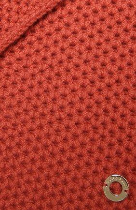 Мужские кашемировый шарф rougemont LORO PIANA розового цвета, арт. FAE1299 | Фото 2