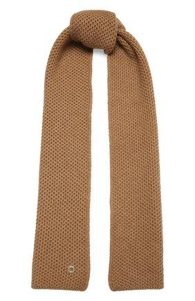 Мужские кашемировый шарф rougemont LORO PIANA бежевого цвета, арт. FAE1299 | Фото 1