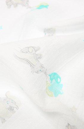Детского комплект из 4-х пеленок ADEN+ANAIS разноцветного цвета, арт. ADISN109GB   Фото 6